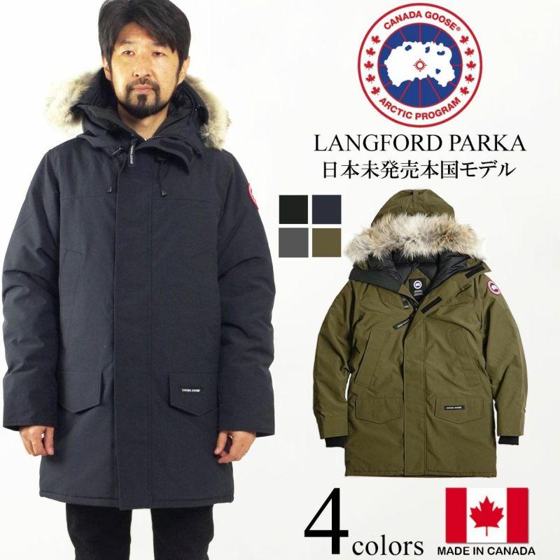 カナダグースCANADAGOOSEランフォードパーカー本国モデル(メンズS-XXL代理店未扱いモデルラングフォードLANGFORDPARKAダウンコートダウンジャケット)