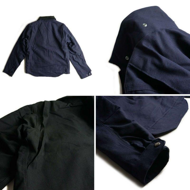 カーハートCarhartt103828デトロイトジャケット|メンズ12ozヘビーコットンダックワークジャケットアウターサイズS-XXXL保温防寒襟コーデュロイワークブランドショート丈ブルゾンタイプブラックネイビー黒紺