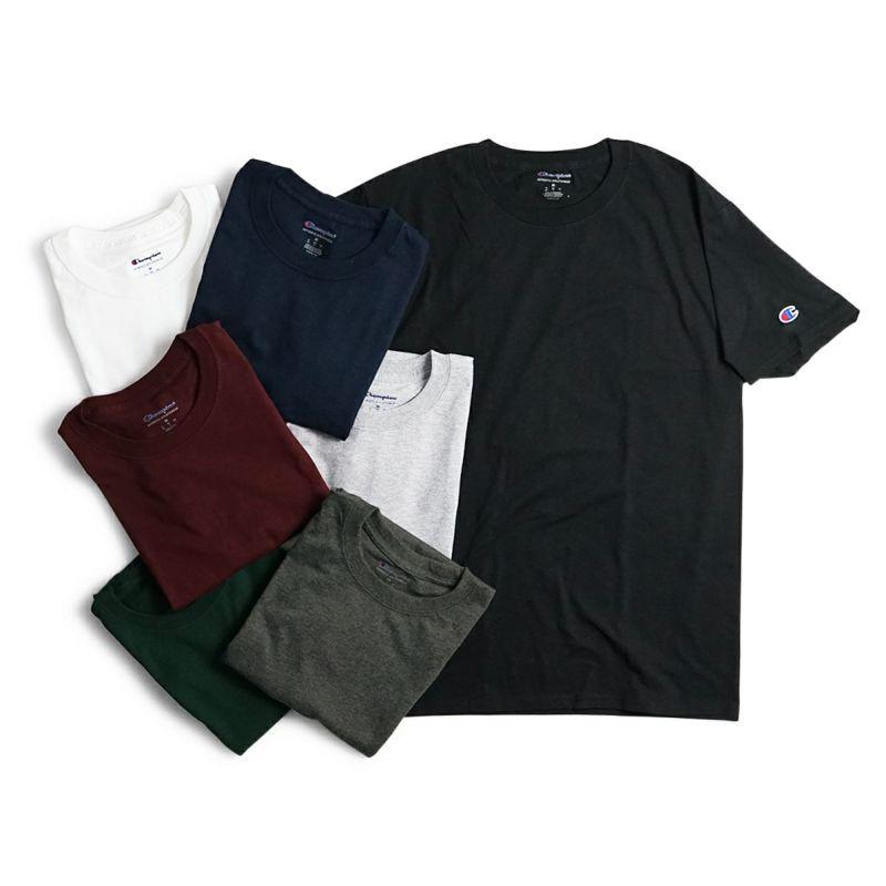 チャンピオンChampion#T4255.2オンス半袖Tシャツ(無地米国流通モデル)