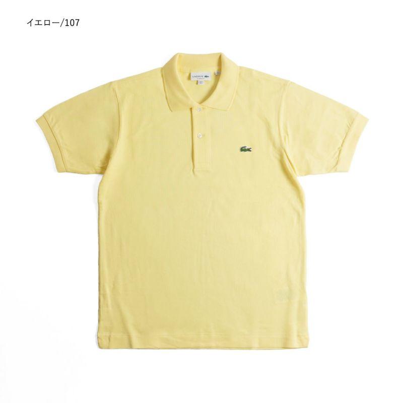 ラコステLACOSTEL1212/L1264半袖ポロシャツメンズ鹿の子世界流通モデルClassicPiquePolo