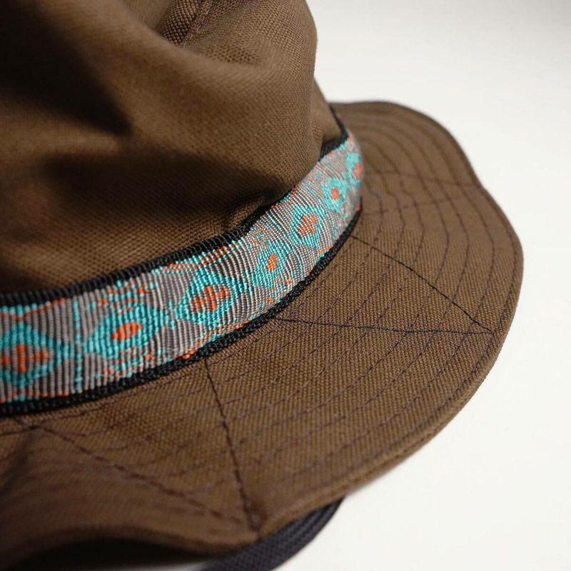 カブーKAVUストラップバケットハット(アメリカ製米国製コットンキャンプサファリハットブーニー帽子)