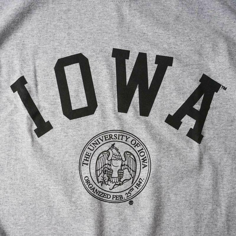 UNIVERSITYOFIOWAロゴTシャツ(メンズS-XXLカレッジTシャツアイオワ大学海外買い付け)