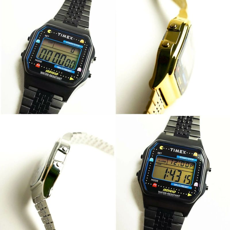 タイメックスTIMEXT80×PAC-MANパックマン生誕40周年記念コラボレーションウォッチ(限定モデルT80PAC-MAN80年代デジタル海外買い付け)