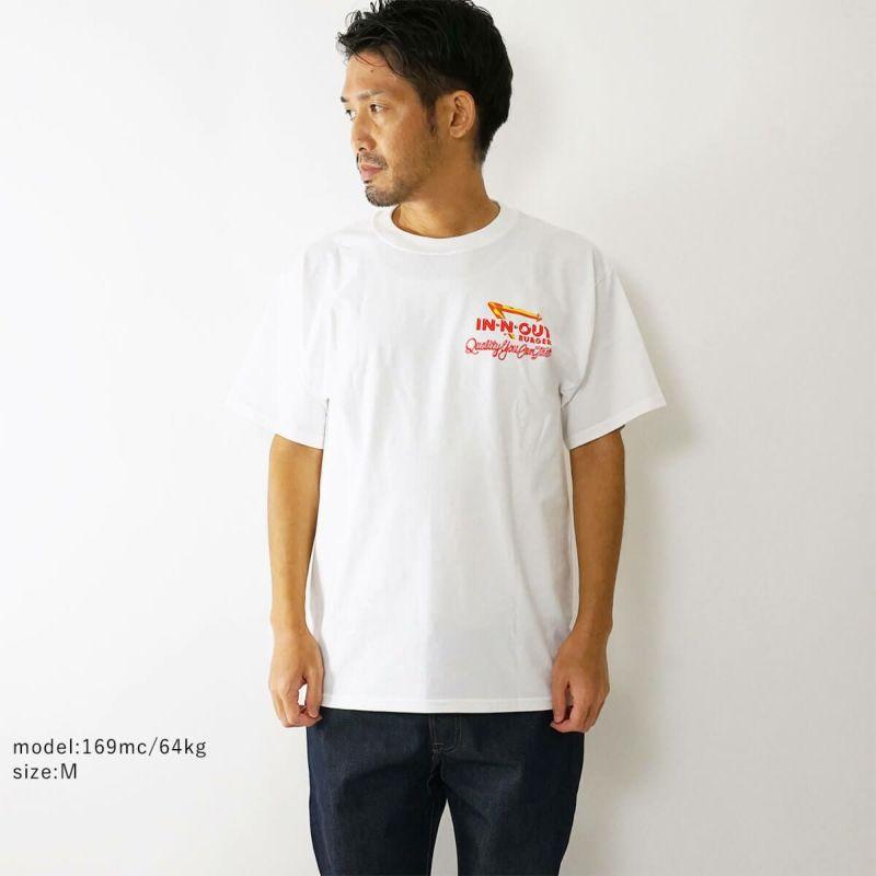 インアンドアウトバーガー半袖Tシャツ199340thテイストオブカリフォルニアホワイト(メンズS-XXLIn-N-OutBurgerご当地Tシャツ海外買い付け)
