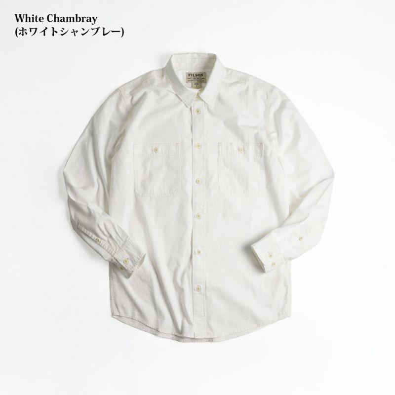 フィルソンFILSONシャンブレーCPOシャツ20189139メンズXS-XXLコットンシャンブレーワークシャツミリタリーシャツ
