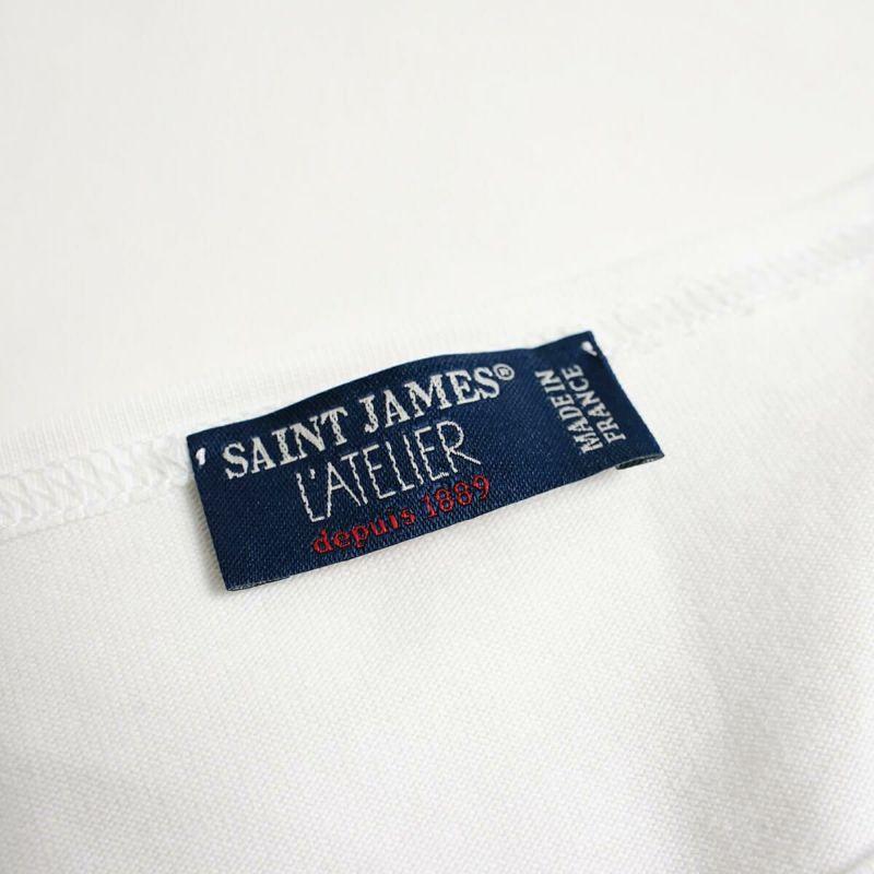 セントジェームスSAINTJAMESバスクシャツナバル(NAVALナヴァル肩抜きボーダーボートネックフランス製)